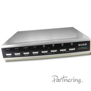 4 Channel Color Quad Processor, Digital Video Recorder