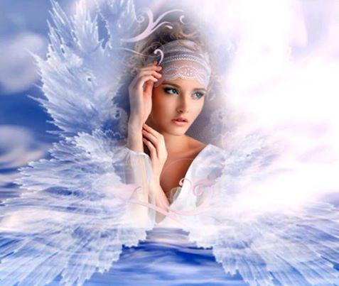 GZ630- 40*50 beautiful angel in sky pictures for living room diamon painting by numbers