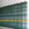 Cheap pvc coated welded fence panel