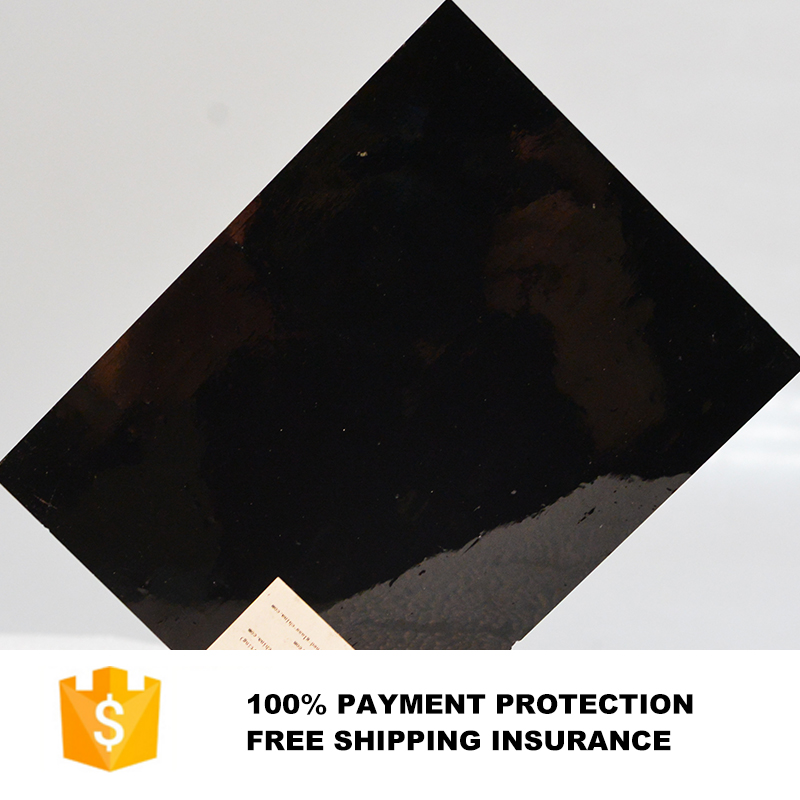 3mm black solid opalescent glass sheet