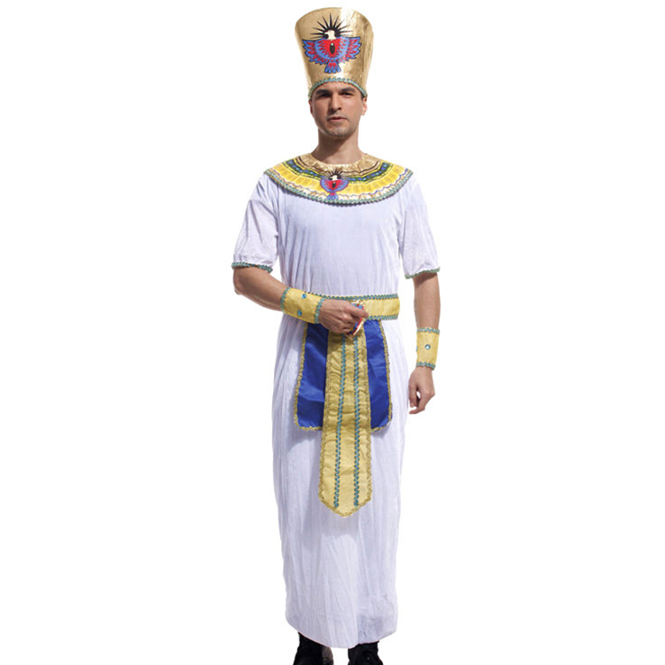 oem halloween costume exquisite egyptian king costume men egyptian costume