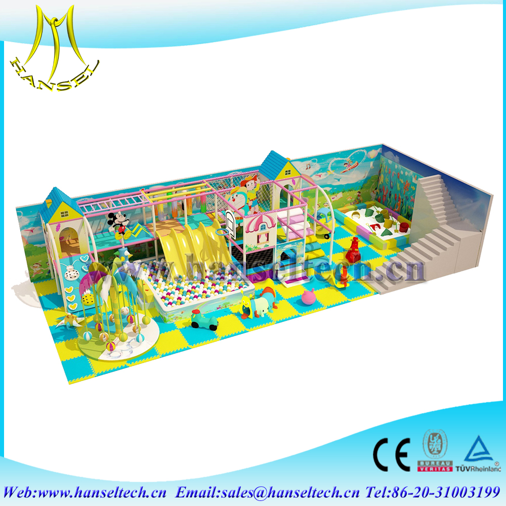 Hansel import china goods kids park indor playground kids indoor play equipment