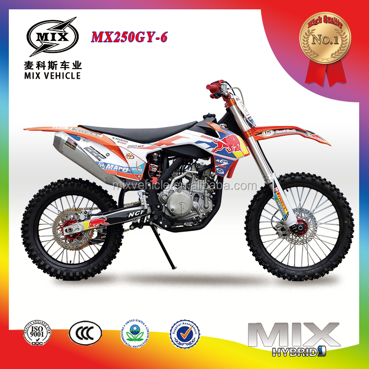 Cheaper Fashional cool dirt bike motorcycle 250cc