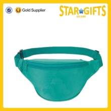 2015 high quality 2-Zipper Fanny Pack waist bag manufacturer