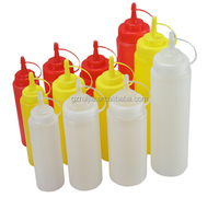 480ml/16oz PP Plastic Type and Plastic Material ketchup squeeze bottle