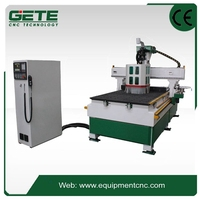 Wood Board how to build aatc tool change cnc machine