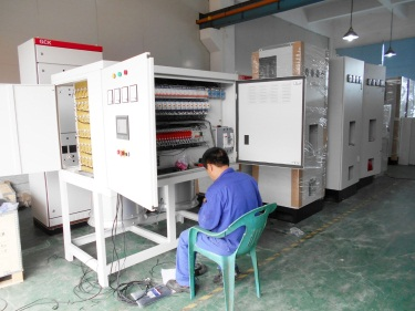 Electrical Control Cabinet Assembling