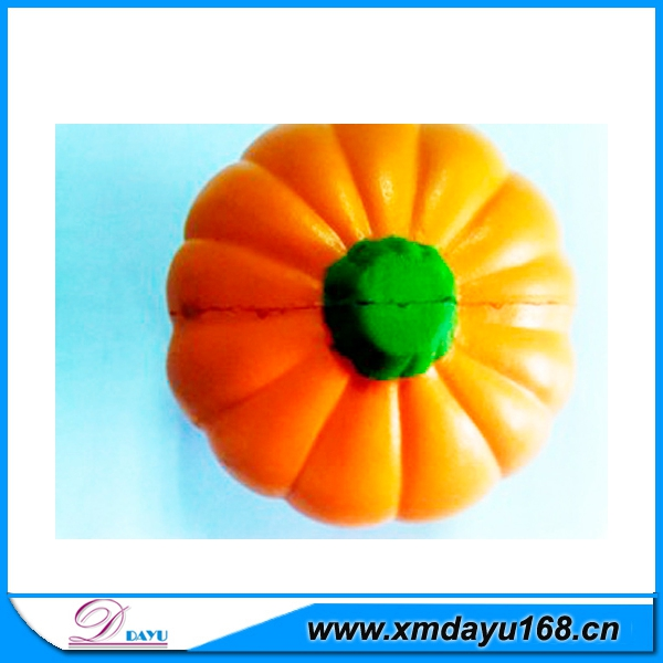 Funny Stress Toy Halloween PU Foam Pumpkin