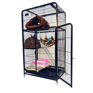 new arrival pet strong metal house cat cage for america market