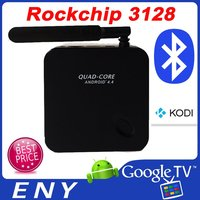 RK3128 Quad-core ARM A7 android TV box EKB318 satellite tv black box