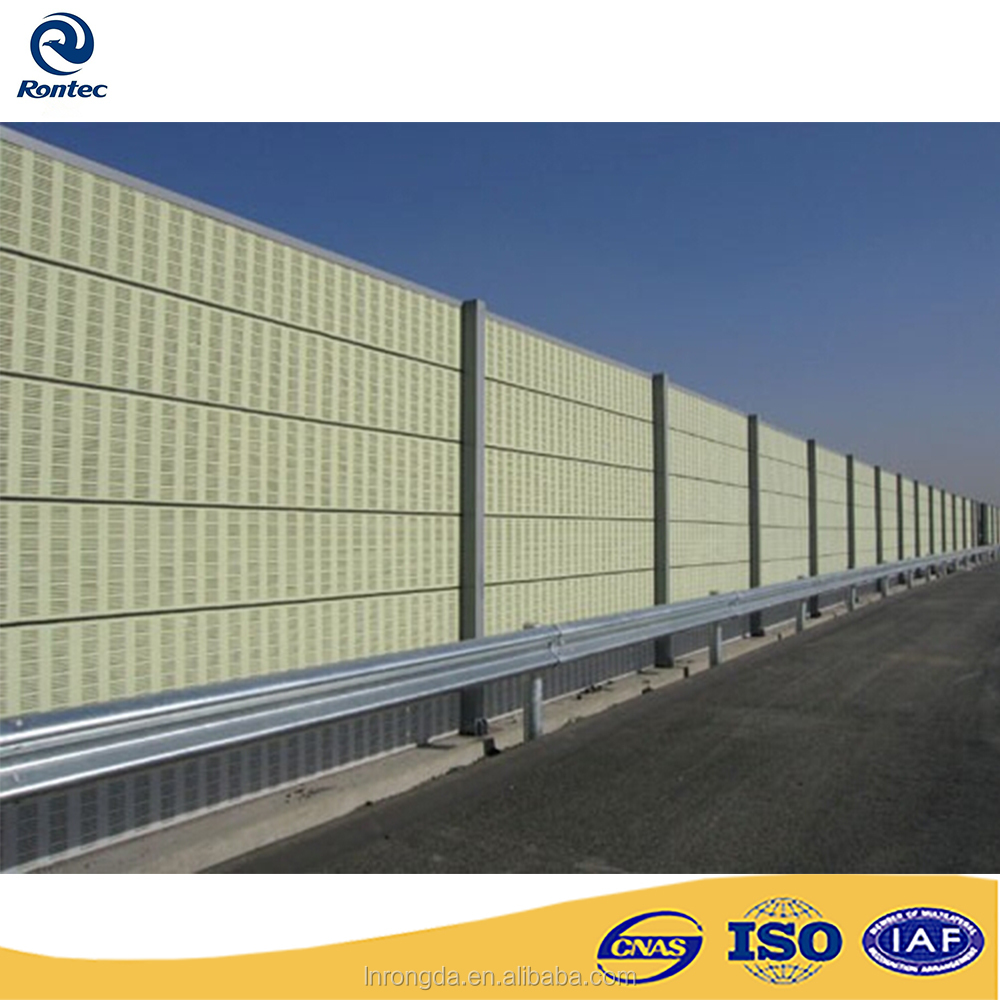 Subway or highway acoustical barriers/sound barrier