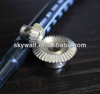 Precision Small Straight Bevel Gear with customized design