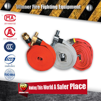 Standard quality PVC Drip Fire hydrant cabinet fire hose with small diameter
