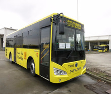 2017 Sunlong Safety Second Hand School Bus SLK6109