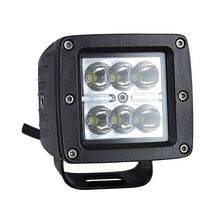 18W Dual Row Square 6 LED Work Light Spootlights 30 Degrees Car Work Light Offroad Truck SUV ATV Trailer Work Lamp