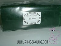 Tea Tree Fragranced - Glycerine (Melt & Pour) Soap - 1kg Bars