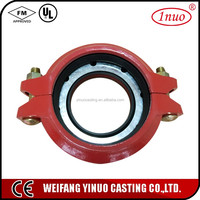 FM UL certificated Pipe Coupling Flexible for Fire Fighting