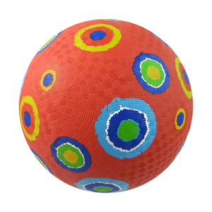 5.5 6 7 8.5 10 13 16 Inches Whole Ball Printing Soft Rubber Playground balls