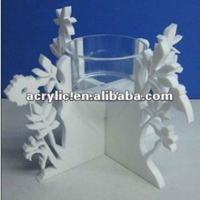 promotional valentine's day decoration acrylic candle holder