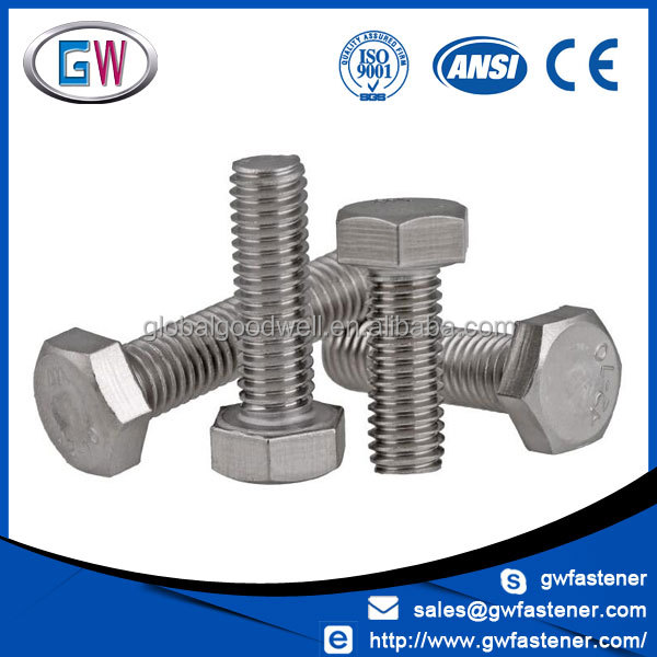 Hexagon head UNC UNF Bolt Stainless 304