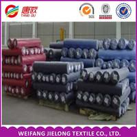 China dyed 21*21/80*68 Yarn Dyed Fabric Stocklots Wholesale Stock Yarn Dyed 100 Cotton Fabric Stocklot