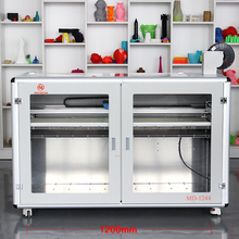 Plastic Material 3D Models Machinery Large Size MINGDA MD-1244 3D Printer FDM Printing Machine for Making Prototypes