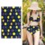 4 Way 88 Nylon 12 Spandex Knit Stretched Swimwear Material Fabric