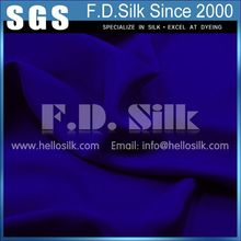 Silk 4 PLY Woven Crepe Fabric Royal Blue No.11 Color