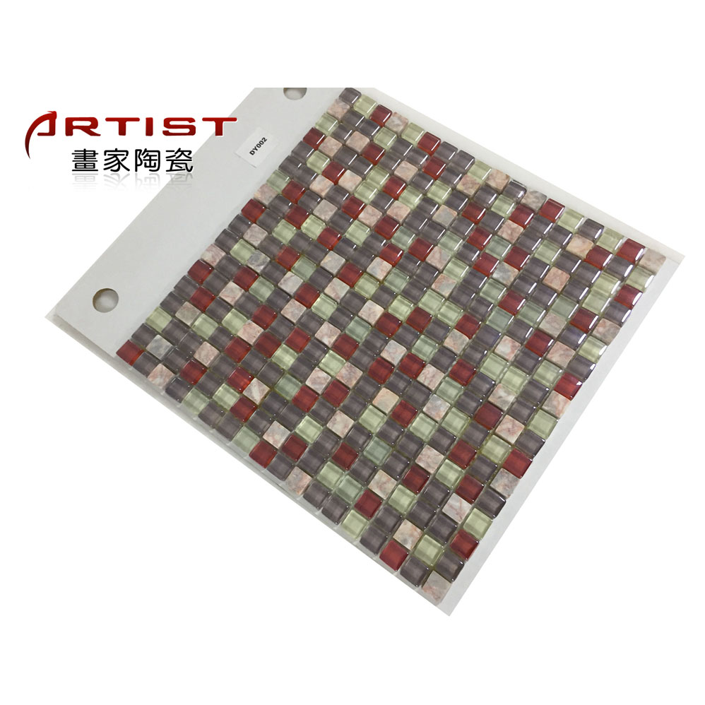 LAFA interior wall and bathroom glass mosaic tile with factory price