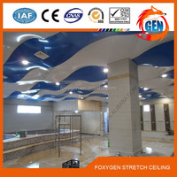 2.35-3.2 meters width humidity resistant plastic bathroom pvc ceiling panels for ceiling and wall decoration
