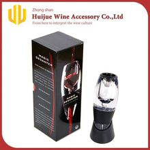 Hot selling magic glass wine decanter apparent wine aerator