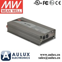 Mean Well Battery Inverter TN-1500-124A 1500W 24V Meanwell True Sine Wave DC AC Inverter with Solar Charger