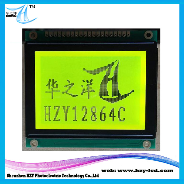 Outline Dimension 7.8*7.0 CM 128 x 64 Graphic Type LCD Modules