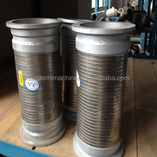 stainless 304 metal braided and corrugated pipe/hose/tube