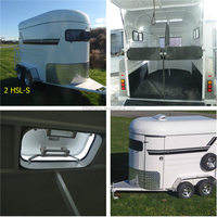 cheap super horse trailer for south american market