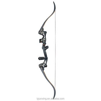 china wholesale metal hunting and fishing aluminum recurve bow