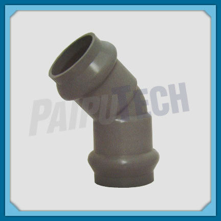 Plastic Pipe Fitting PVC Double Socket 45 Degree Bend