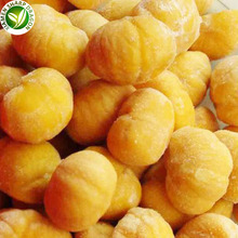BRC certificated IQF frozen chinese peeled chestnut