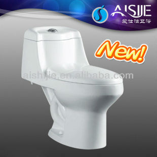 A3113 Siphonic Chaozhou Sanitaryware Cheap One Piece Toilets With Sink