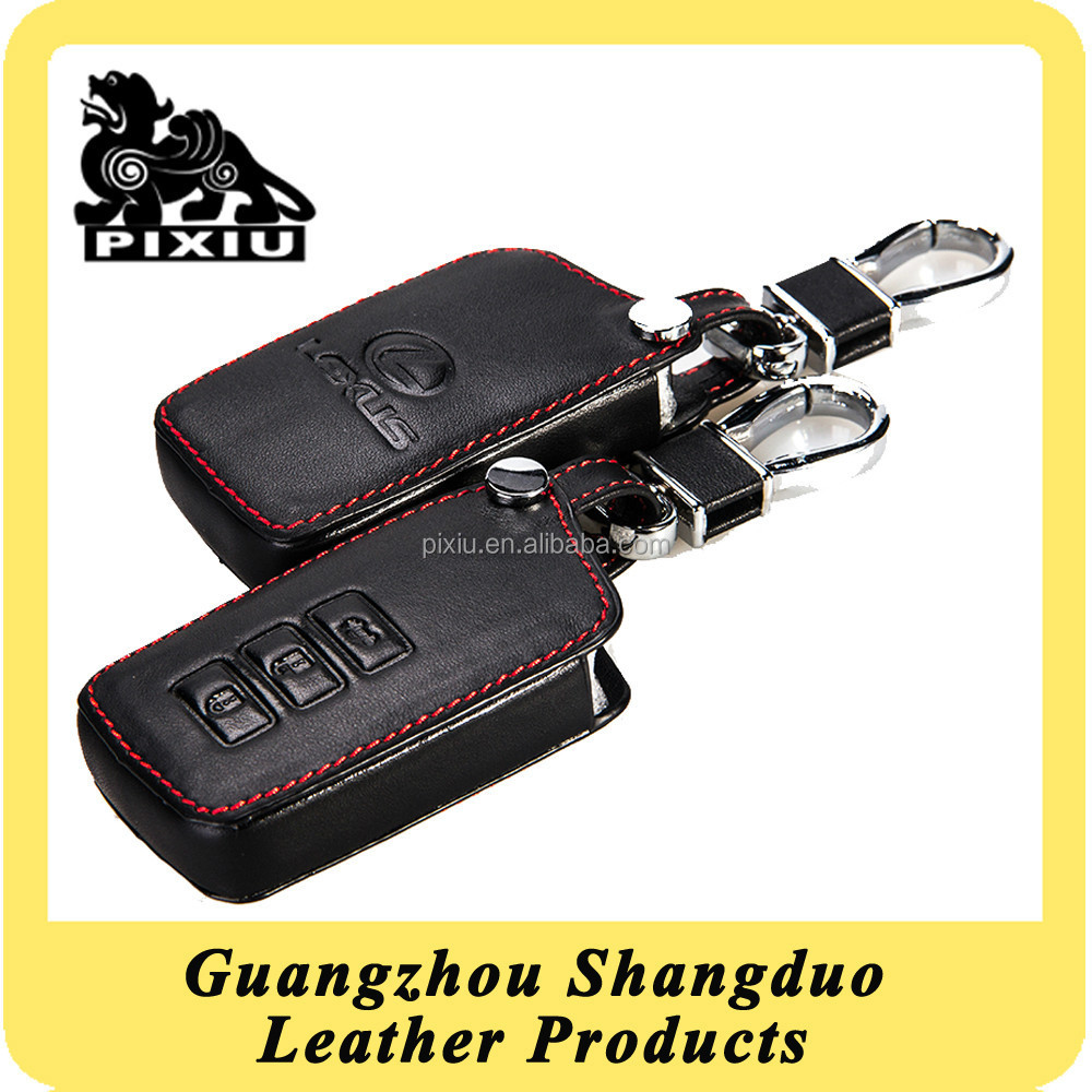 Hot Popular Customizable Design Leather Car Key Chains Maker