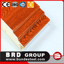Indonesia harga concrete Polyurethane sandwich panel