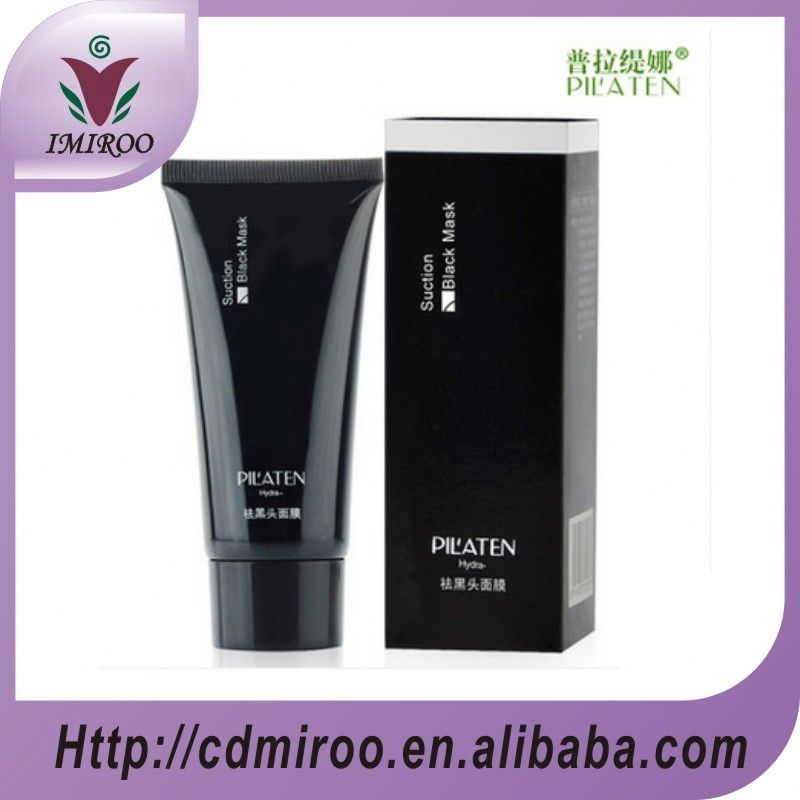 Black Mask PILATEN Tearing Style T zone Deep Cleansing Purifying Peel Off Black Head Close Pores Facial Mask Head Pore Strips