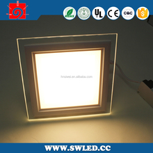 300X300mm/30*30cm led light panel glass