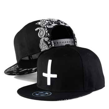 Korea Fashion Style HipHop Street Dance Sport Casquette Cross Embroidered Gorras Snapback Cap Flat Baseball Hat