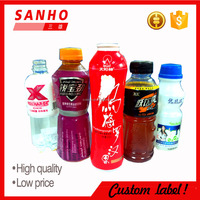 pvc printing plastic shrink sleeves label for beverages