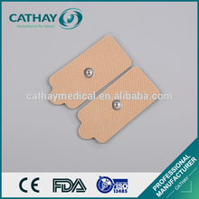 ISO certificated good price medical sticky tens snap electrode pad adhesive