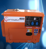 High quality 3.5kva air cooling small mini marine diesel generator 2kw