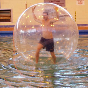 Transparent dia 2m water walking ball/human water balls worldwide delivery
