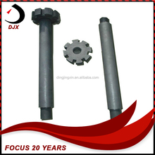 Anti-oxidation Long Working Time Aluminium Fluid Purification Graphite Shaft and Impeller