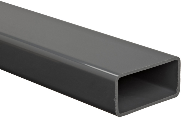 Custom Rectangle PVC/PE/PP/PMMA profiles